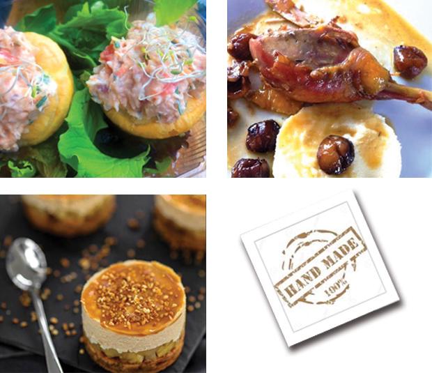 Menu semaine 51 -Menu de Fête - Livraison Lunch Box Monaco Roquebrune Menton