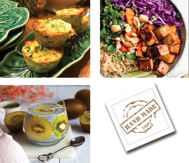 Menu semaine 2 - 2021 - Menu mise au vert - Livraison Lunch Box Monaco Roquebrune Menton