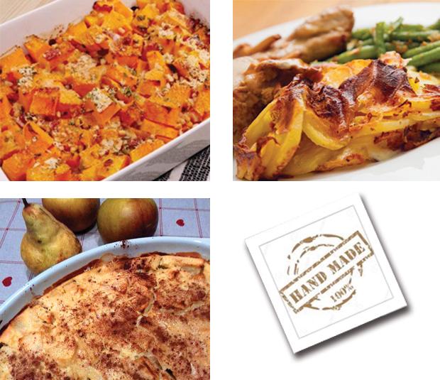 Menu semaine 10 - 2021 - Menu très gratiné - Livraison Lunch Box Monaco Roquebrune Menton