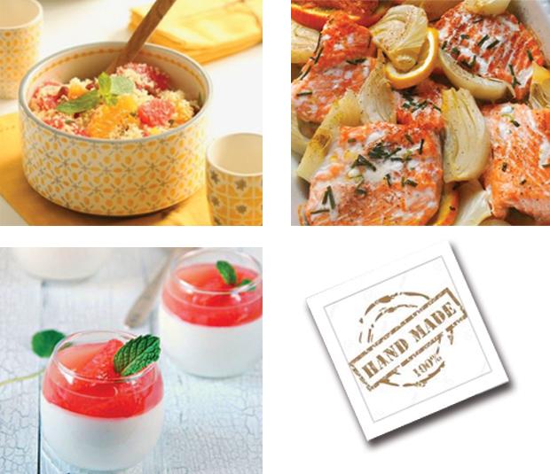 Menu semaine 8 - 2021 - Menu aux agrumes - Livraison Lunch Box Monaco Roquebrune Menton