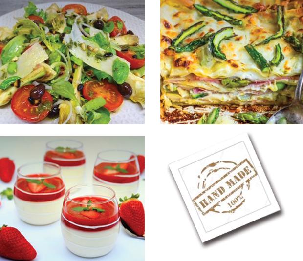 Menu semaine 14 - 2021 - Menu Italien version light - Livraison Lunch Box Monaco Roquebrune Menton